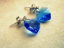 blue hearts by Marianna9