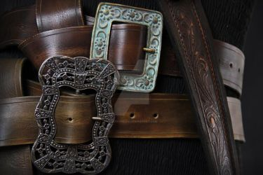 Jack Sparrow Buckles by TheIronRing