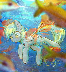 Drifting Through The Weightless Forest by mirroredsea