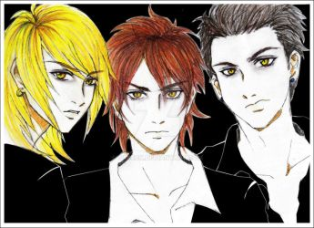 The Cullen Brothers_Dark Vers by tabeck