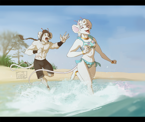 [C] Swimming Lessons by forstyy