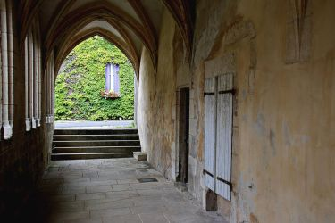 Cloister Saint-Maur in Hattonchatel by Gerfer