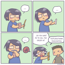 When they don't do online ordering. by luyidraws