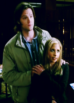 Sam and Buffy by Spaulding--x