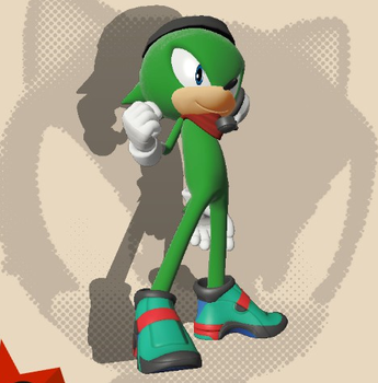 Speedy the Hedgehog (Sonic Forces Ver.) by jmkrebs30