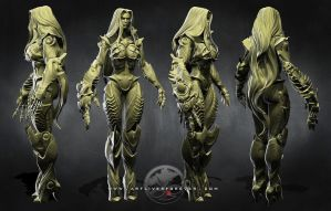 Witchblade: Multi Views by LittleShaolin