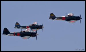 Three of Four by AirshowDave