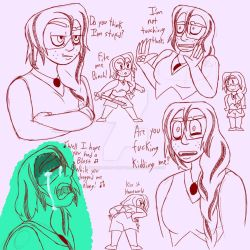 More Alexandrite Faces by Silver-Song-Shifter