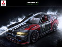 Time Attack Full Carbon Evo II by EvolveKonceptz