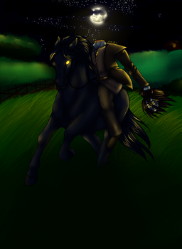 Monster boy challenge day 14: Dullahan by McEdgelord