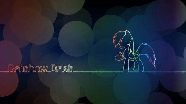 Rainbow Dash Wallpaper (pack coming soon) by Derpydeponson