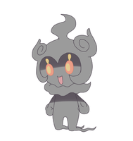 Marshadow Doodle by castformgrass