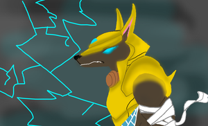 Nasus Sketch - LoL by DrDiscordedWhooves