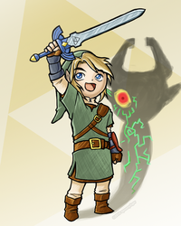 Link and the Shadow (2010) by spoonyliger