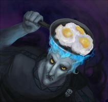 Breakfast Hades by Owlet-in-chest