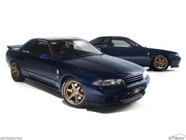 R32 Skyline GT-R Studio Shot by pleyr