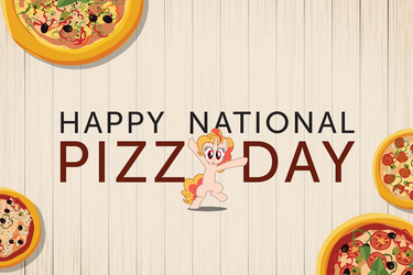 Happy National Pizza Day by Hikarisah