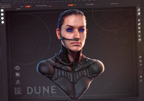 Every Now and Then I Remember How Much I Love Dune by DuncanFraser