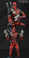 Movie style Deadpool Marvel Legends by Jin-Saotome