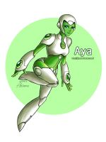 Green Lantern Aya by Jjiyo