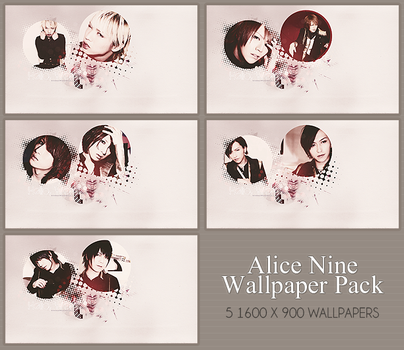 Alice Nine Wallpaper Pack by BeforeIDecay1996