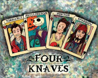 The Four Knaves by hairballOne