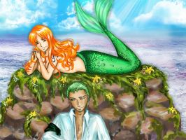 The Pirate and The Mermaid by Jozephina