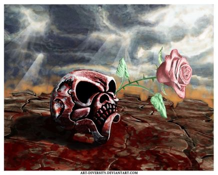 A rose for the apocalypse by Art-Diversity