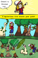 HG Nuzlocke : 96 by SaintsSister47