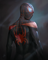 Spider-Man (Miles Morales ver.) by bayuhrd