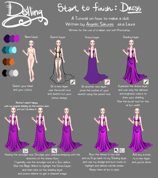 Dolling Tut: Dress by Angelic-Sakuras