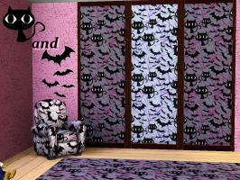 TS3-Cats and Bats by allison731