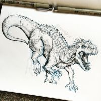 Indominus by wrobles4