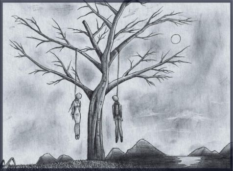 Bodies on the Tree by mateusz1992