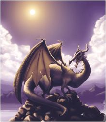 Dragon by Harry-Potter-Spain
