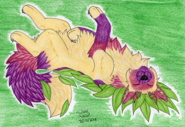 Art Trade: FoxieFlower 4/4 by Silvah-Rush