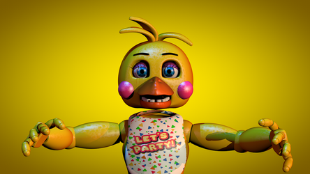I'm working on an inaccurate Toy Chica Model by Popi01234