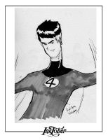 Inktober - Mr. Fantastic by roelworks