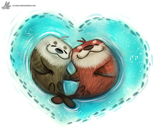 Day 815# Happy Valentines Day! by Cryptid-Creations