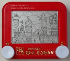 Etch a castle by pikajane