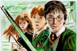 Harry Potter And The Chamber Of Secrets by Fajralam