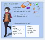 Meet the artist by Risa1