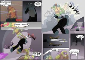 TMNT WYS Pages 19-20 by Samantai