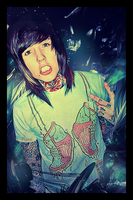 Oliver Sykes by CanNWill
