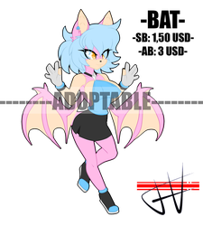 CLOSED ADOPTABLE BAT PAYPAL by DL-95
