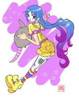 Southern Clown Girl by Jasartist