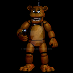FINISHED Cinema 4D Freddy Fazbear (HeroGollum) by HeroGollum