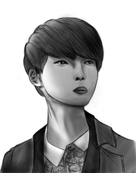 Ryeowook by Oxstormthunder