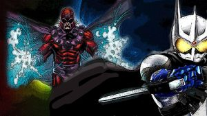 Marvel Magneto Vs Kamen Rider Eternal by Digger318