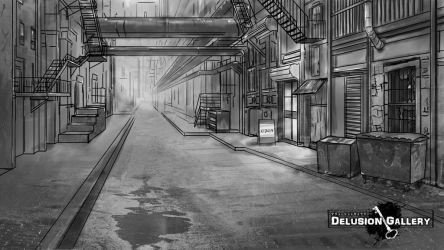 Alley by Lesleigh63